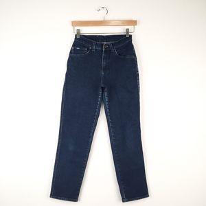 Vintage Lee Dark Wash Mom Jeans